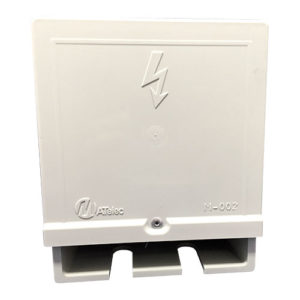 Weather proof box double socket 4x4