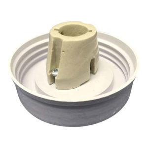 "Fibre glass 200mm (8"") Regular with BC Porcelain Lampholder"